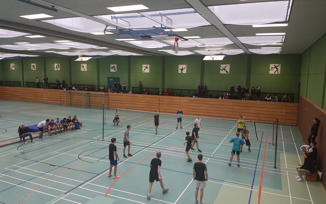 Novum beim TG-Volleyballturnier: 11er-Schüler setzen sich gegen Favoriten durch