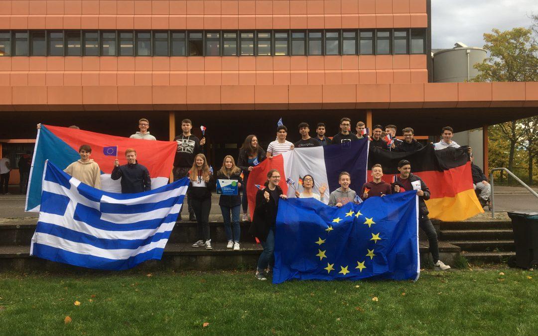 Europa erleben, erforschen und gestalten: BBS I – Technik – startet zwei europäische Projekte