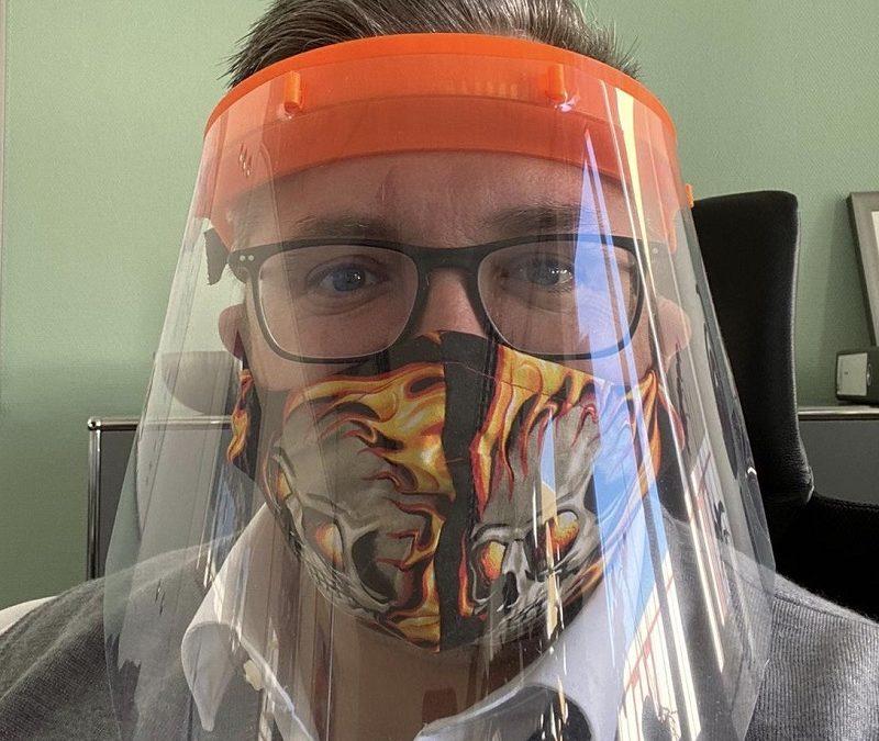 Face-Shields für Westpfalz-Klinikum Kaiserslautern