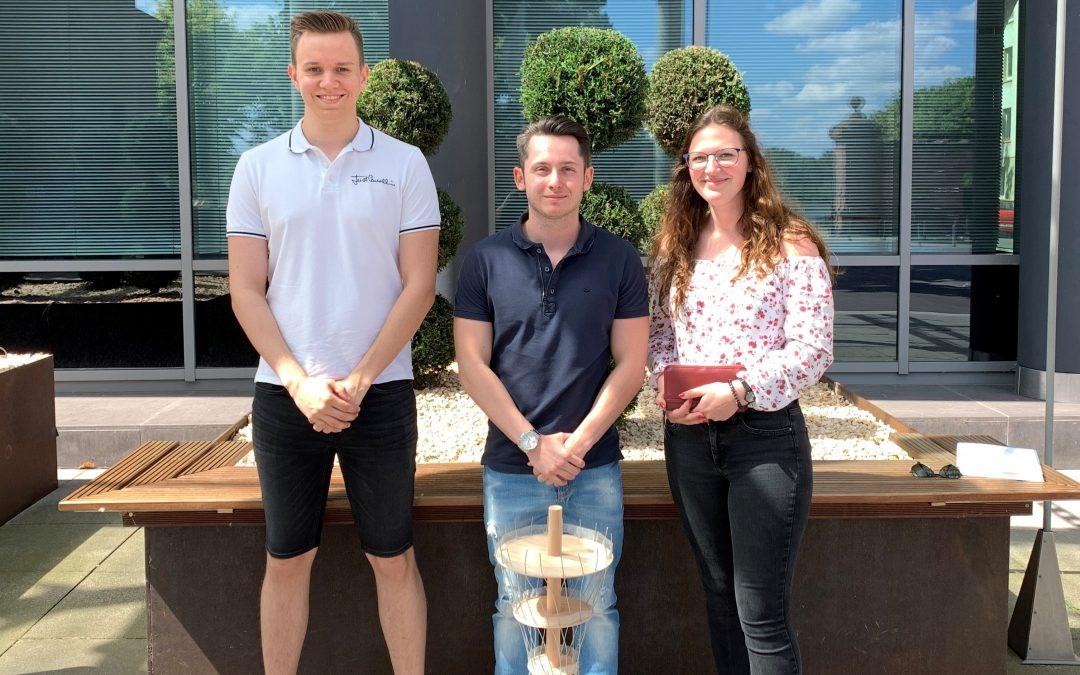 Leistungskurs Bautechnik gewinnt Preis beim Junior.ING Schülerwettbewerb der Ingenieurkammer Rheinland-Pfalz