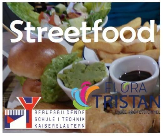 Digitaler Anstoß zum länderübergreifenden Streetfood-Projekt